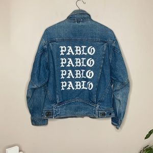 PABLO Kanye West Vintage Denim Jacket